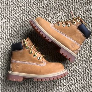 Toddler Timberland boots wheat size 7